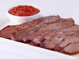 Spiced Beef Brisket with Smokey BBQ Sauce (Texas)
