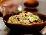 Israeli Couscous with Apples, Cranberries and Herbs