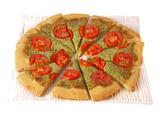 Arugula, Ricotta and Smoked Mozzarella Pizza