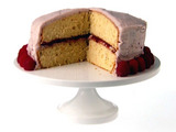 Todd's Orange and Raspberry Cake
