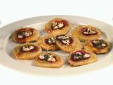 Beet, Apple, and Cheese Pizzettes