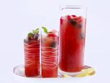 Berry, Melon and Mint Iced Tea