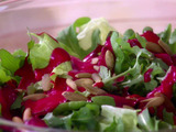 Bibb and Arugula Salad with Raspberry Vinaigrette