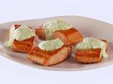 Pan-Fried Salmon with Green Goddess Tzatziki