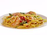 Linguine with Shrimp, Asparagus and Cherry Tomatoes