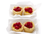 Cherry-Lemon Meringue Mini Pies