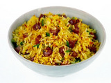 Pancetta and Saffron Rice