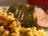 Pork-Stuffed Collard Greens