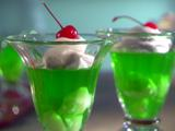 Loopy Lime and Lychee Gelatin Parfait