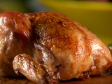 Garlicky Smothered Cornish Hens