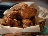Fried Chicken in a Basket