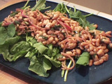Cannellini Bean, Red Onion, and Arugula Salad