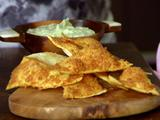 Roasted Garlic-Asiago Dip with Homemade Crackers