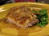 Crispy Mustard Braised Pork Belly
