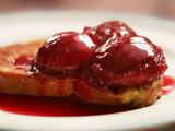 Cinnamon Plums with French Toast