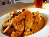 Curried Crab with Coconut and Chili