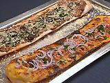 Multi-Mushroom Flatbread Pizza