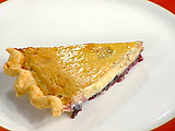Blueberry Jam and Custard Pie