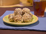 Honey Almond Date Balls