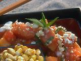 Papaya and Feta Salad
