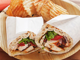 Creole Chicken Wraps