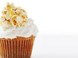Golden Butter Popcorn Cupcakes