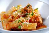 Online Round 2 Recipe - Crispy Eggplant and Pasta