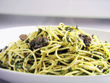 Round 2 Recipe - Spinach and Mushroom Pasta