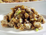 Stuffing with Golden Raisins and Walnuts