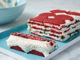 Red Velvet Ice Box Cake