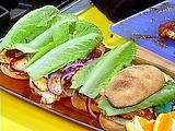 Smoky Orange Barbecue Chicken Sandwiches