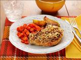 Pecan-Crusted Pork Chops with Apples