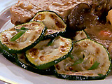 Sauteed Zucchini with Garlic and Herbs