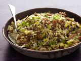 Wild Rice and Basmati Pilaf with Sausage