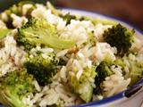 Broccoli and Rice Pilaf