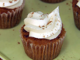 Rum Raisin Cupcakes with Rum Raisin Buttercream