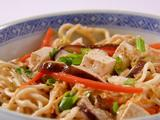 Coconut Red Curry Sauce and Noodles
