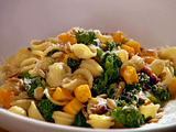 Orecchiette with Pancetta, Pumpkin, and Broccoli Rabe