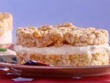 Ginormous Creamy Frozen Caramel Crunchcake