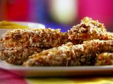 Honey Mustard Pretzel-Coated Chicken Fingers