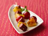 Fresh and Fruity Hot Dog Skewers