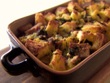 Spinach and Pancetta Strata