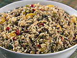 Cranberry Wild Rice Dressing
