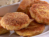 Crispy Salmon Croquettes with Remoulade Sauce