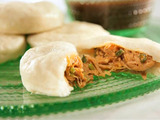 Steamed Pork Buns with Hoisin Dipping Sauce
