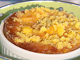 Santa Fe Peach and Mango Cobbler