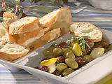 Warm Greek Garden Olives