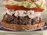Bleu Cheese and Bacon Burgers
