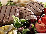 Biblos Grilled Tuna Nicoise