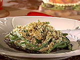 Green Bean Stuffed Portobellos